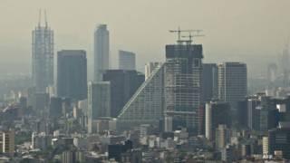 Ciudad de México en contingencia ambiental. Foto: AFP/Getty
