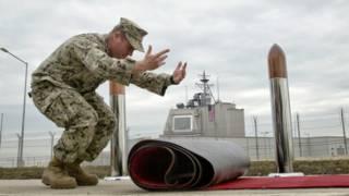 Открытие базы НАТО в Румынии
