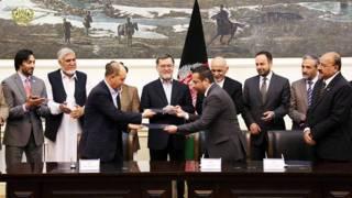 قرارداد تاسیس ۶ کارخانه صنعتی با ارزش ۳۵۰ میلیون دلار در کابل امضا شد