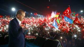 اردوغان د استانبول لاریون کې د اعدام سزا ستنول وغوښتل