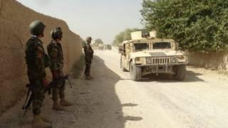 نبرد بین طالبان و نیروهای دولتی در نادعلی هلمند شدت یافته است