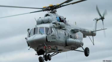 नक्सल प्रभावित इलाकों में हेलिकॉप्टर