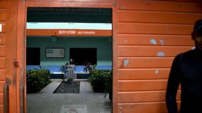 Centro de acogida de migrantes en Tapachula, México