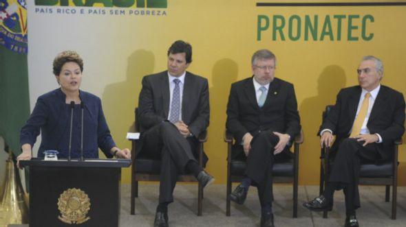 Dilma em evento do Pronatec (AgBr)