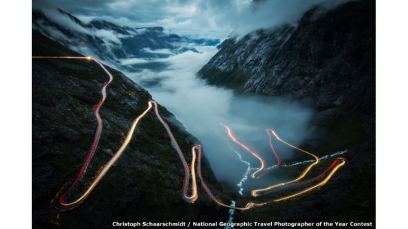 Trollstigen por Christoph Schaarschmidt / National Geographic Travel Photographer of the Year Contest