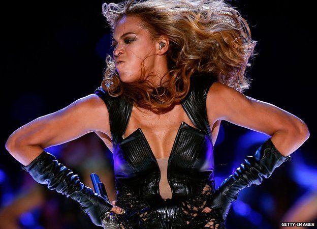 美國流行天后比碧絲(Beyonce)