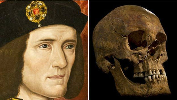 Retrato y calavera de Ricardo III