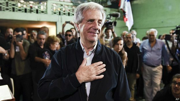 Presidente uruguayo, Tabaré Vázquez