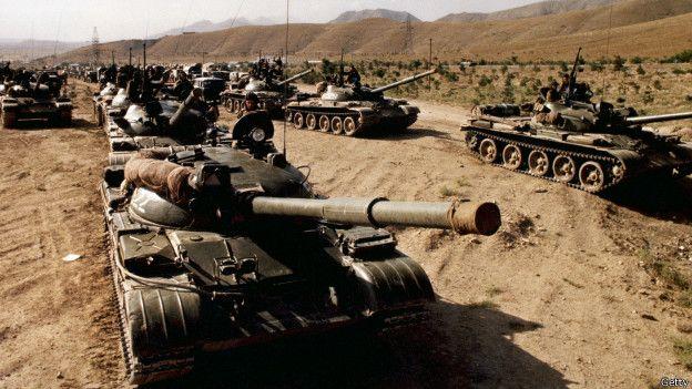 Tanques en Afganistán