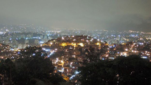 Noche en Caracas