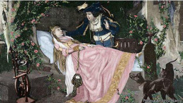 'A Bela Adormecida'