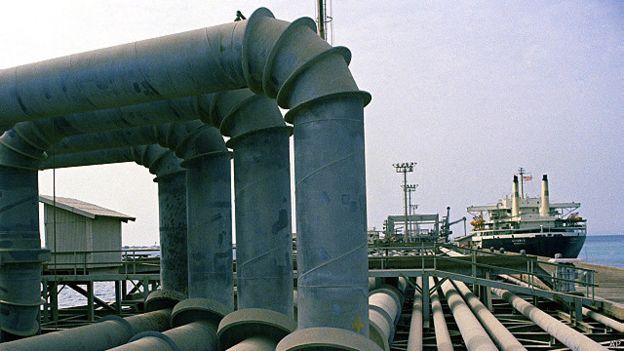 Petroleras Irán