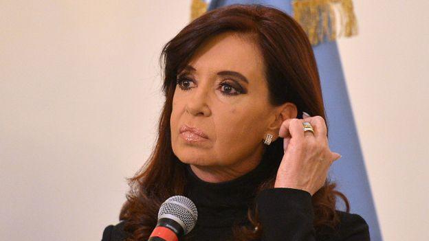 Cristina Fernández, expresidenta de Argentina