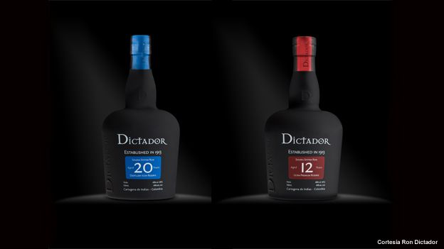 Botellas de ron Dictador