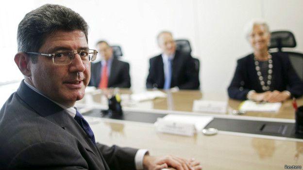 Ministro brasileño de Hacienda, Joaquim Levy.