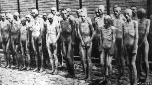 Presos en Mauthausen
