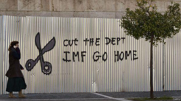 Grafiti del FMI