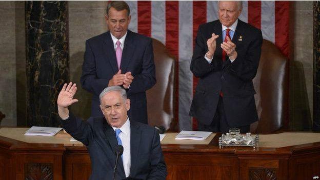 Netanyahu en el Congreso de EE.UU.