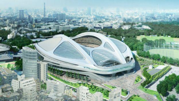 Rancangan Zaha Hadid