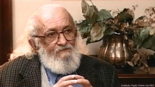 Paulo Freire | Foto: Instituto Paulo Freire via MEC