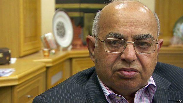 Muhammad Afzal, presidente de la Mezquita Central de Birmingham
