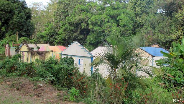 Casas abandonadas de Barlovento