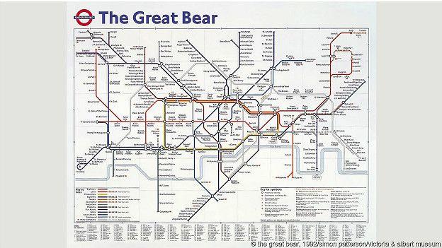"""Медведица"""" - схема метро,"""