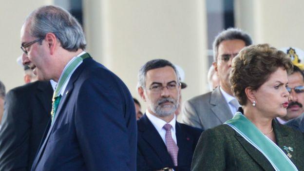 Eduardo Cunha e Dilma Rousseff (Foto: Ag. Brasil)
