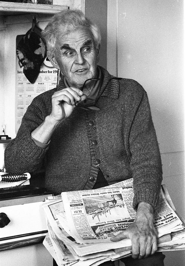 Edgar Evans en 1975