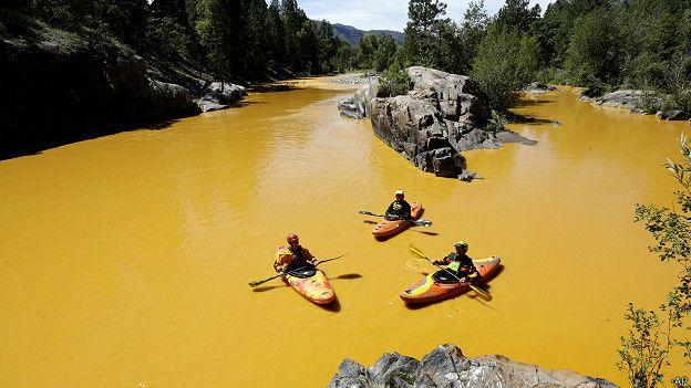 EE.UU.: el derrame tóxico que tornó amarillo mostaza al río Colorado 150810202118_sp_colorado_624x351_ap