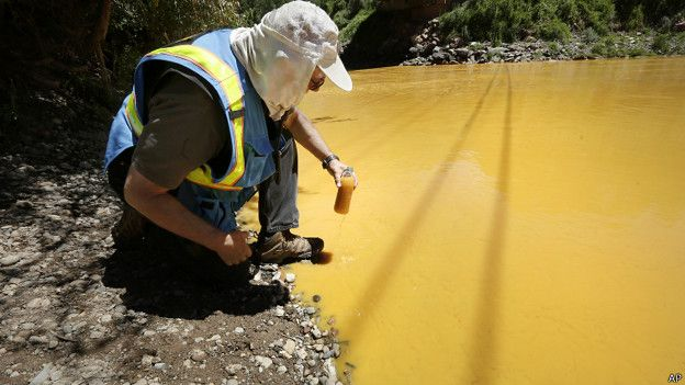 EE.UU.: el derrame tóxico que tornó amarillo mostaza al río Colorado 150810202335_sp_colorado_624x351_ap