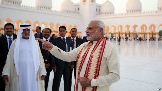 दुबई में मंदिरों की कमी नहीं