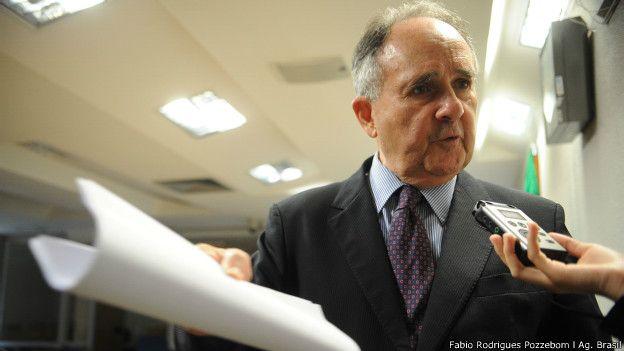 Senador Cristovam Buarque (PDT) durante entrevista (Foto: Fabio Rodrigues Pozzebom/Ag. Brasil)