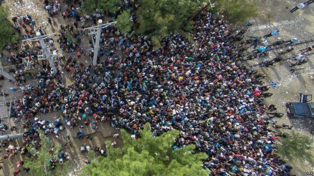 macedonia, creisis de refugiados