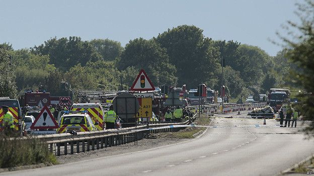 Shoreham, accidente