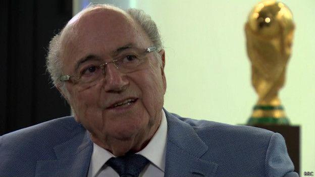 Интервью Блаттера Би-би-си: в ФИФА коррупции нет