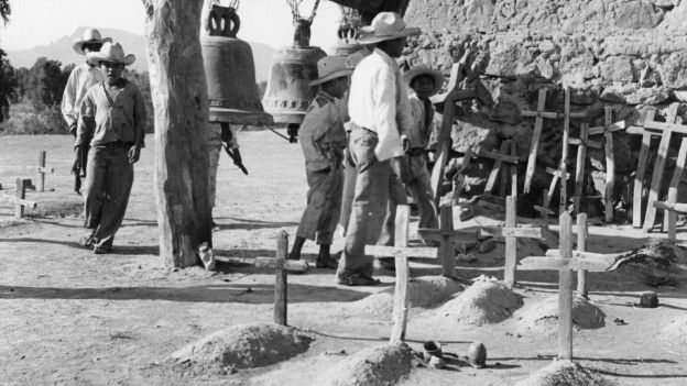 Yaquis en 1945