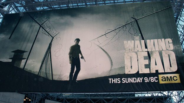 Un poster de The Walking Dead