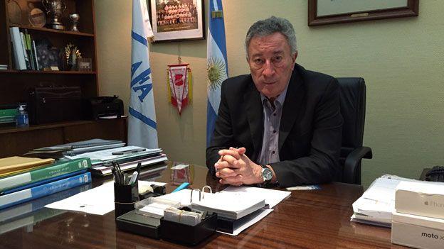 Luis Segura, presidente de la AFA