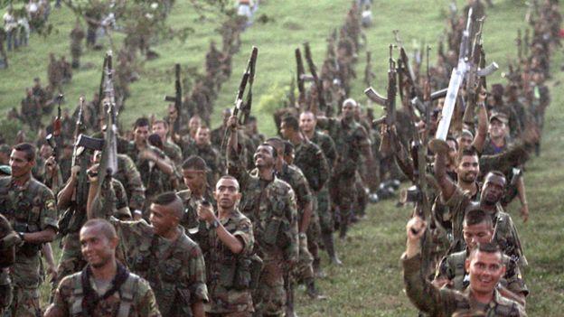 Paramilitares colombianos