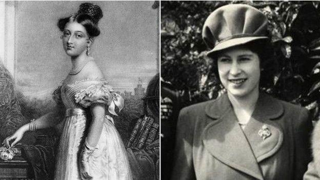 Victoria e Isabel II