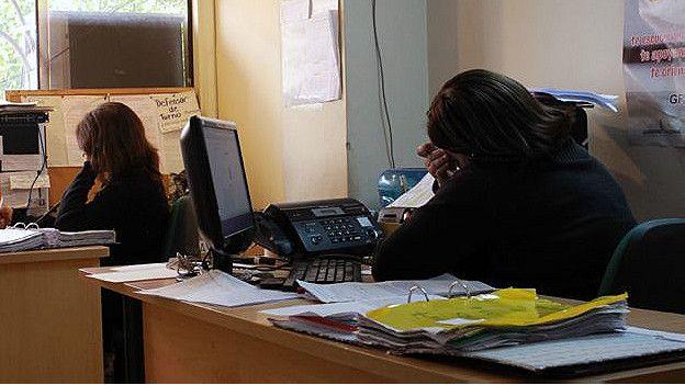 Trabajadoras de la Línea de Ayuda