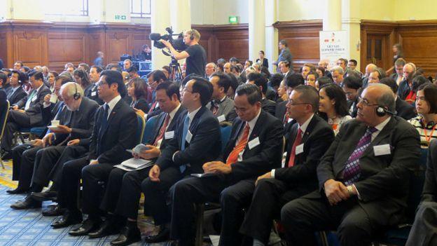 Diễn đàn kinh tế Việt Nam-Anh Quốc tại London hôm 10/9/2015
