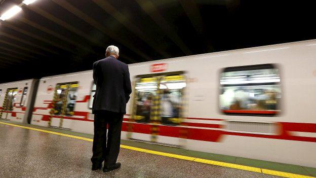 Tren en Santiago