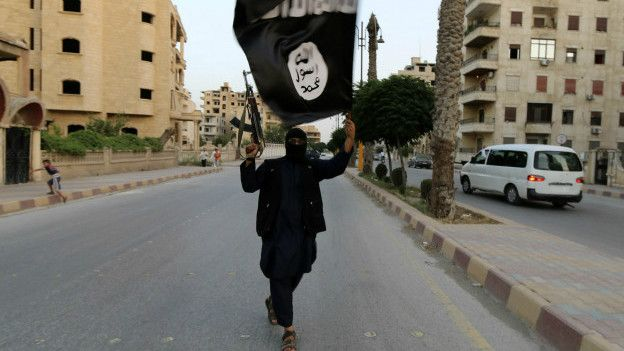 Combatiente de Estado Islámico