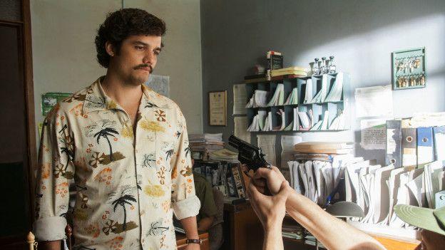 Wagner Moura como Escobar
