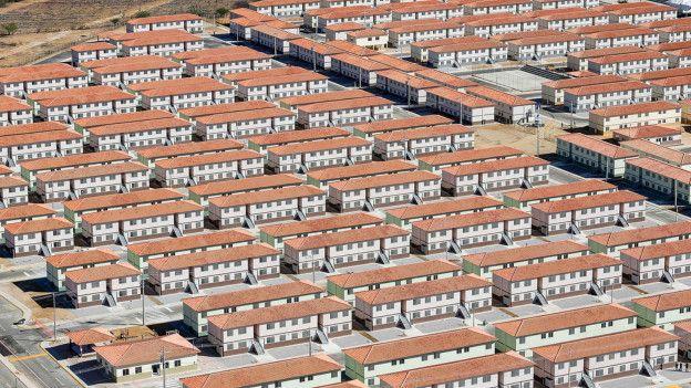 Conjunto do Minha Casa, Minha Vida em Juazeiro, na Bahia (Foto: Ichiro Guerra/PR)