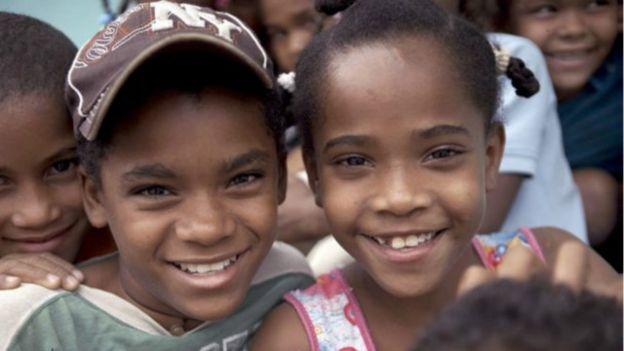 Niños en República Dominicana