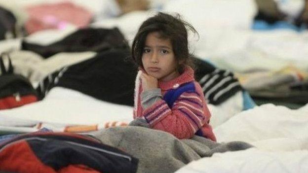 Сирийские беженцы в Австрии