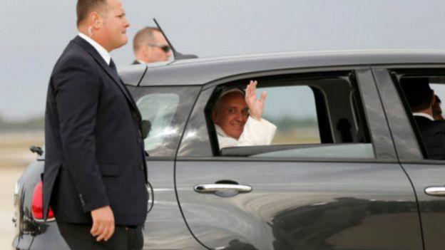 Đức Giáo hoàng tới thăm Mỹ